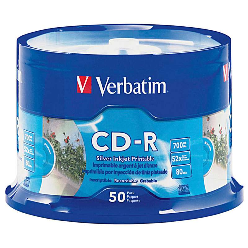 CD Verbatim printable